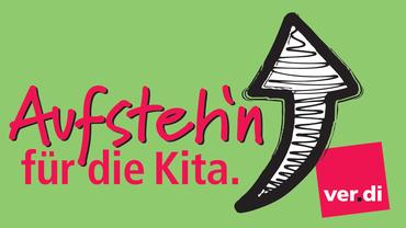 Aufstehn für die Kita-Logo