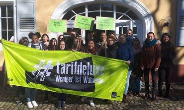 Protestpause am ZfP Emmendingen am 14.02.2019