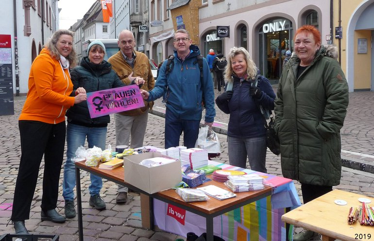Internationaler Frauentag 2019 in Freiburg