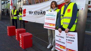 Streik am 18.04.2019 bei Cinemaxx Freiburg
