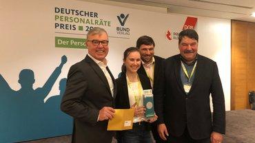 Personalrat des Hauptzollamts in Singen erhält Deutschen Personalräte-Preis in Silber für Projekt zur Gewalt-Deeskalation