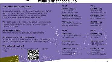 Wohnzimmer-Session der ver.di Jugend BW