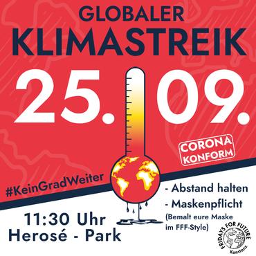 Demo-Aufruf Fridays for Future Konstanz