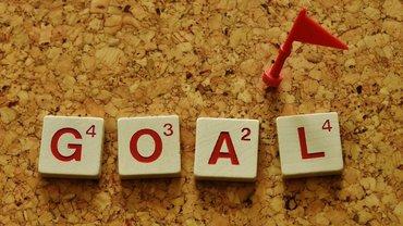 Ziel Erfolg Abschluss Einigung